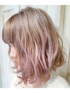 【Embellir megumi】ハイトーン×ピンクベージュ - 24時間いつでもWEB予約OK!ヘアスタイル10万点以上掲載!お気に入りの髪型、人気のヘアスタイルを探すならKirei Style[キレイスタイル]で。