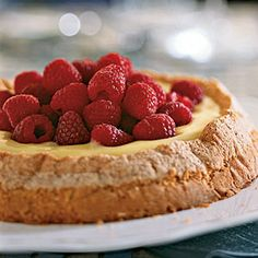 """Lemon-Almond Cake with Lemon Curd Filling from MyRecipes.com (Our Favorite Review: """"Everyone raved over it! The plater was pretty much licked clean."""")"""