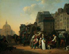 Louis Léopold Boilly - Les déménagements (1822)