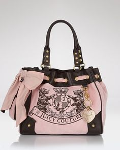 2685bd38e61f Juicy Couture Scotty Embroidery Daydreamer Tote Couture Handbags