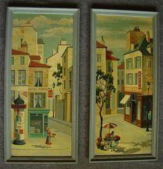 Paris paint by number