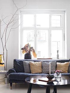 GRISES Y AMOSTAZADADOS: EL SALÓN/ GRAY AND MUSTARD: LIVING ROOM - mes caprices belges: decoración , interiorismo y restauración de muebles