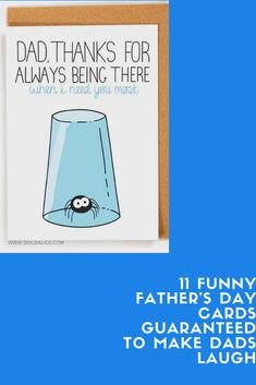 When it comes to senses of humor, dads are a rare breed. They always manage to strike the right balance between corny and sarcastic, and they seem to possess a special talent Funny Fathers Day Card, Fathers Day Presents, Love You Papa, Bear Card, Dad Jokes, Best Dad, Birthday Ideas, Funny Quotes, Dads