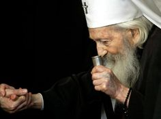 Pavle (Serbian Cyrillic: Павле, English: Paul; 11 September 1914 – 15 November 2009) was the 44th Patriarch of the Serbian Orthodox Church, the spiritual leader of Orthodox Serbs, from 1990 to his death. His full title was His Holiness the Archbishop of Peć, Metropolitan of Belgrade and Karlovci, Serbian Patriarch Pavle. Before his death, he was the oldest living leader of an Eastern Orthodox church.