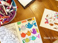Color or doodle. Daughter Love, Doodles, Birthday, Projects, Color, Log Projects, Birthdays, Blue Prints, Colour