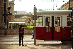 Vienna, Austria. Metro railcar, european transportation is my fave!