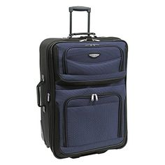 Aerolite Lightweight Upright Travel Trolley Bags Carry On Luggage ...