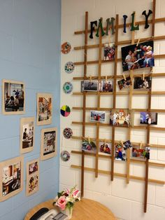 Lovely display area for a classroom.. look closer to see how easy it would be to add to and alter throughout the year. This blog has a number of a classroom that really embraces child led, inquiry based learning