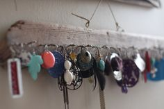 Driftwood Earring Display