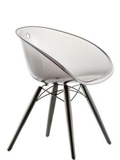 Pedrali / Gliss  This modern chair gives a nice touch to your home.