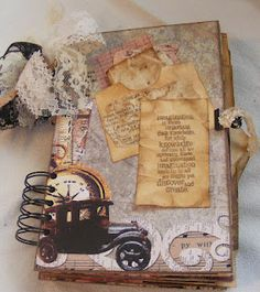 Love this 'vintage junk journal' from Susie @ 'Creative Cafe'