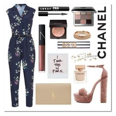 """""""Jumpsuit // Florals """" by ashleeyneeo on Polyvore featuring Ted Baker, Steve Madden, NARS Cosmetics, Bobbi Brown Cosmetics, Urban Decay, Yves Saint Laurent, Laura Mercier, LORAC, Vitaly and La Femme"""
