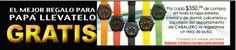 La Comer gratis reloj de pulso en compras de departamento de caballero