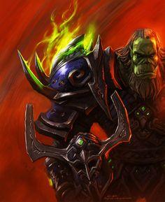 #warcraft #orc #warrior #guerrier