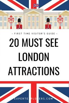 Our London Guide for Beginners makes planning easy for first-time visitors. With a four full-day itinerary of must-see attractions you'll have your first-trip planning done in no time. Include 20 must-see attractions all within London's Zone 1 city center. Via ExpertExplorers.com | #UK #London #LondonFirstTrip #Londonforbeginners Travel Uk, London Travel, Travel Deals, Travel Guides, Family Travel, Travel Tips, Best Vacation Spots, Best Vacations, London Guide