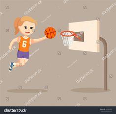 """Résultat de recherche d'images pour """"dessin  anime modele joueuse de basket feminine"""""""