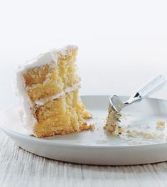 Lemon Layer Cake (Gluten Free!)