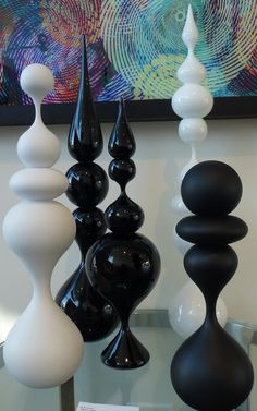 Chess on a grand scale, anyone? Steven Ciezki's beautiful blown glass art @ Malton gallery