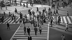 Some of the traffic crossroad intersections in Japan allows pedestrians to cross from all sides of the road at the same time. #Tokyo #Japan