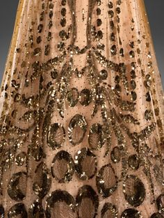 Sequined Tulle Evening Gown, ca. 1907 Buckley & Nunn Ltd, Melbourne via National Gallery of Victoria