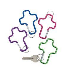 Cross Clip Key Chains - OrientalTrading.com $6.00 per dozen