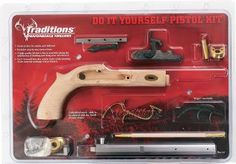 Traditions pioneer black powder pistol unassembled kit 45 caliber traditions kentucky 50 caliber percussion pistol do it yourself kit cabelas solutioingenieria Image collections