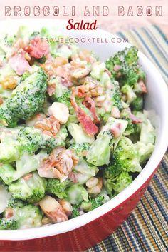 broccoli and bacon salad (1)