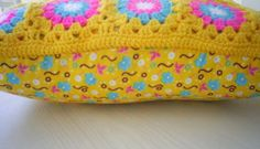 granny square cushion cover to buy - Google Search