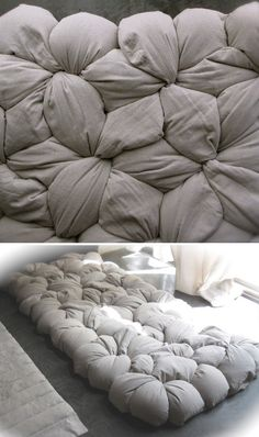 Modular Mattress DIY Kit - looks so comfy
