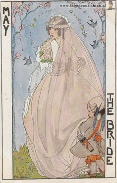 The May Bride ~ Rie Cramer, ca. 1910s