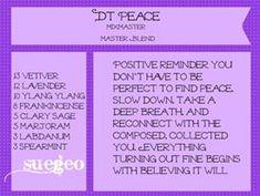 doTerra Peace copycat blend