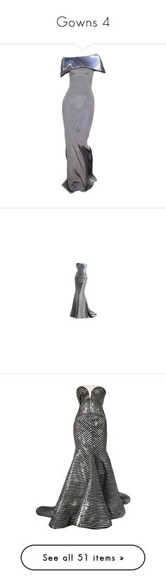 """""""Gowns 4"""" by nikki-kersey ❤ liked on Polyvore featuring dresses, gowns, long dresses, armani, armani prive gowns, armani prive dresses, armani privé, gown, jumpsuits and edit"""