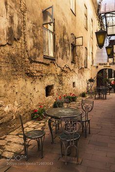 Need a coffee fix. Lviv. Ukraine