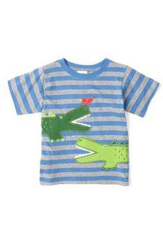 Mulberribush Alligator Applique Tee