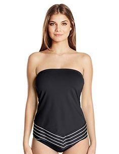 74e963c6a020e COCO REEF Women's Stripe Scarf Bra-Sized Bandini Tankini ... https:/ ·  Swimsuit ...