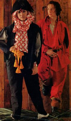 Annabella Lwin and Matthew Ashman in Vivienne Westwood Ensemble, from the Pirates Collection, 1981