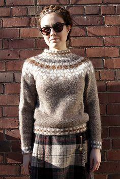 Ravelry: Project Gallery for Birki pattern by Jóhanna Hjaltadóttir Fair Isle Knitting Patterns, Knitting Designs, Crochet Patterns, Icelandic Sweaters, Knit Crochet, Crochet Cats, Crochet Birds, Crochet Food, Crochet Animals