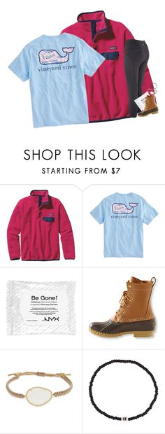 """RTD for car info!!!"" by mac-moses ❤ liked on Polyvore featuring Patagonia, Vineyard Vines, NYX, L.L.Bean, Tai and Luis Morais"