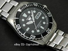"""For years people have enjoyed the quality of Seiko diving watches as high value """"beater"""" watches. Meaning that many of the watches offer solid construction and looks, but with a price that doesn't warn against using them in high impact read more. Cool Watches, Watches For Men, Most Popular Watches, Watch Blog, Seiko Diver, Sea Urchin, Watch Companies, Seiko Watches, Audemars Piguet"""