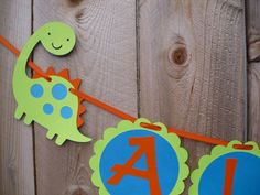 Dino cut outs for the Birthday banner 5th Birthday Party Ideas, First Birthday Parties, First Birthdays, Dinosaur Party, Dinosaur Birthday, Boy Birthday, Cute Banners, Party Banners, Its A Boy Banner