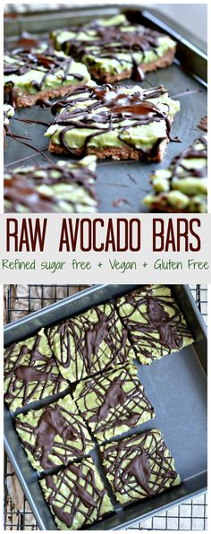 These raw avocado protein bars are the most nourishing plant-based protein desserts you could wish for. It combines wholesome ingredients into a delicious sweet and decadent treat.
