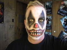 Evil Clown Makeup Tutorial- Halloween 2012