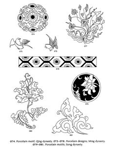 Dover Design Sampler - Chinese Motifs and Designs