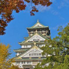 Giappone, Castello di Osaka  Fonte: Fotopedia