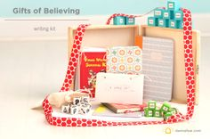Young Writer's Kit - a great semi-handmade gift for the young writer in your life