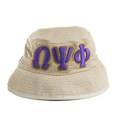 Khaki Letter Floppy Hat – Omega Psi Phi  f23903c16f72