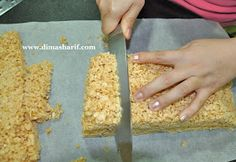 DIMA SHARIF: From Scratch - Making Crispy Treats for Cake Decorating