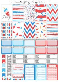 Counting Sheepy: Free Planner Printables - Celebrate July