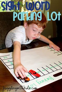My son started Kindergarten this year and has a list of sight words he is required to memorize. It can be quite boring and frustrating for kids….so I am trying to search for ways to make lea…