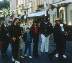 Michael Jackson in Liseberg (Sweden) on June, 1988.